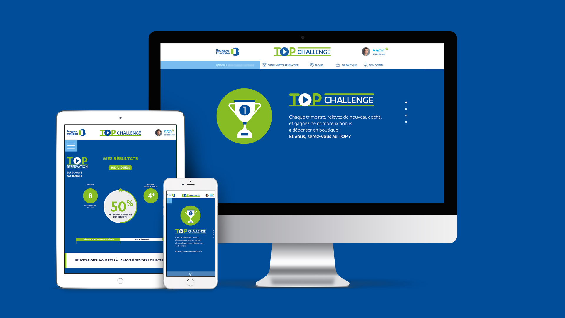 Bouygues Immobilier site Top Challenge